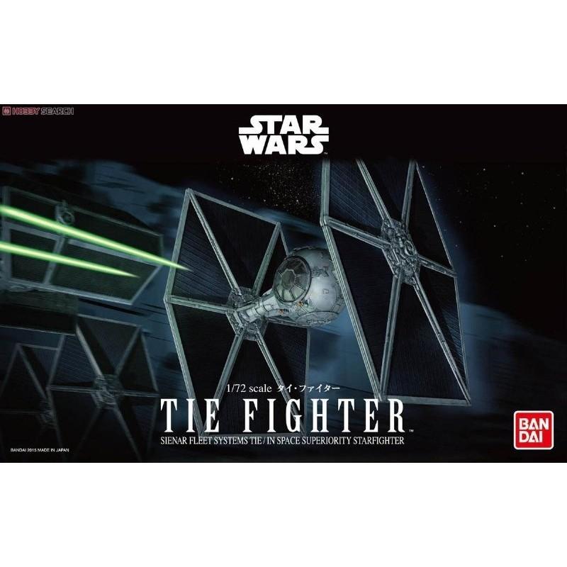 BANDAI 萬代 組裝模型 星際大戰 Star Wars 1/72 新鈦戰機 現貨