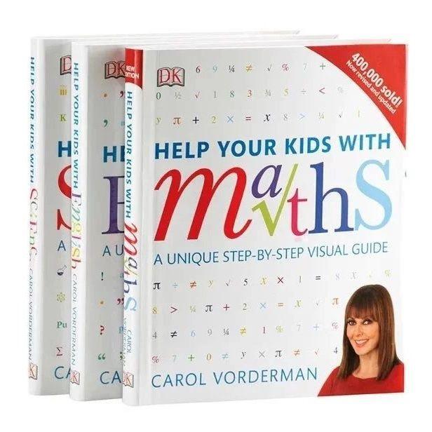 【台灣現發】DK Help Your Kids with系列3冊 DK數學科學教室英文學習技巧