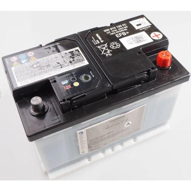 《歐馬國際》 000915105FC TOURAN TIGUAN YETI 70AH EFB 電瓶 電池 德國原廠 副廠