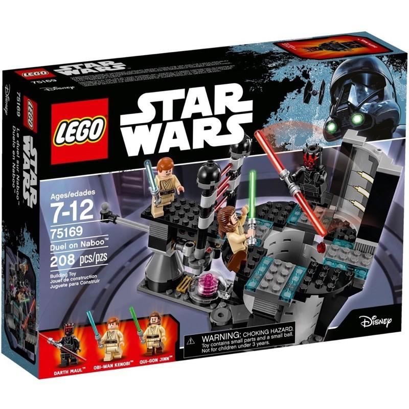 LEGO 樂高 星際大戰 75169 Duel on Naboo