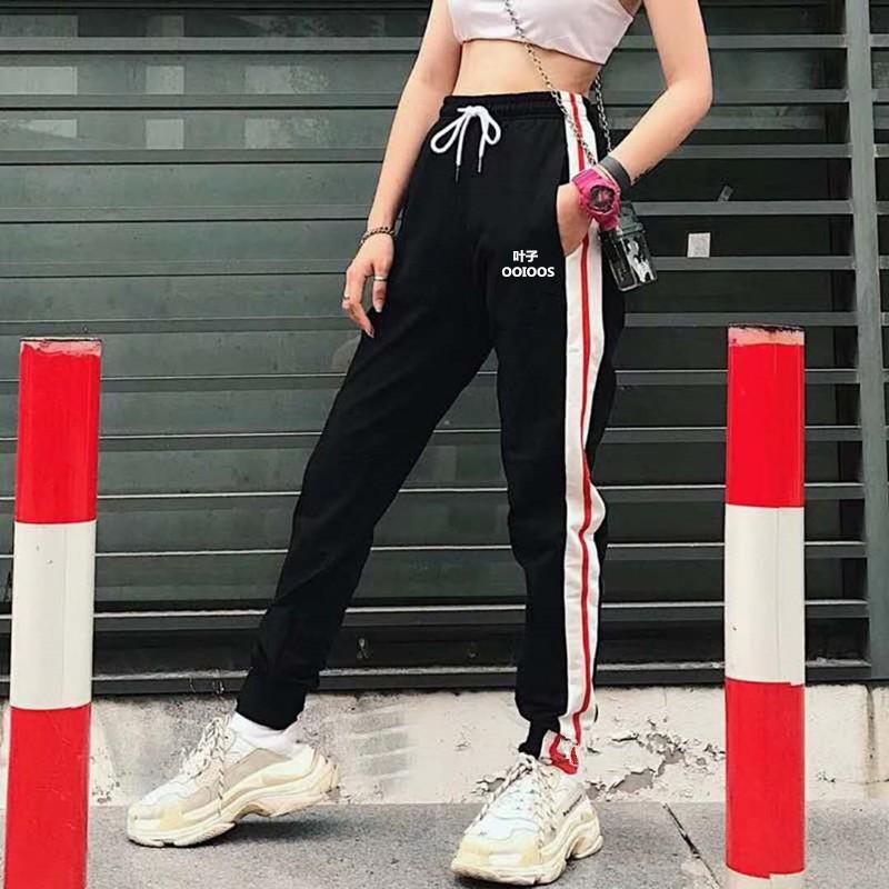 女士戶外休閑時尚百搭運動長褲YCK3018