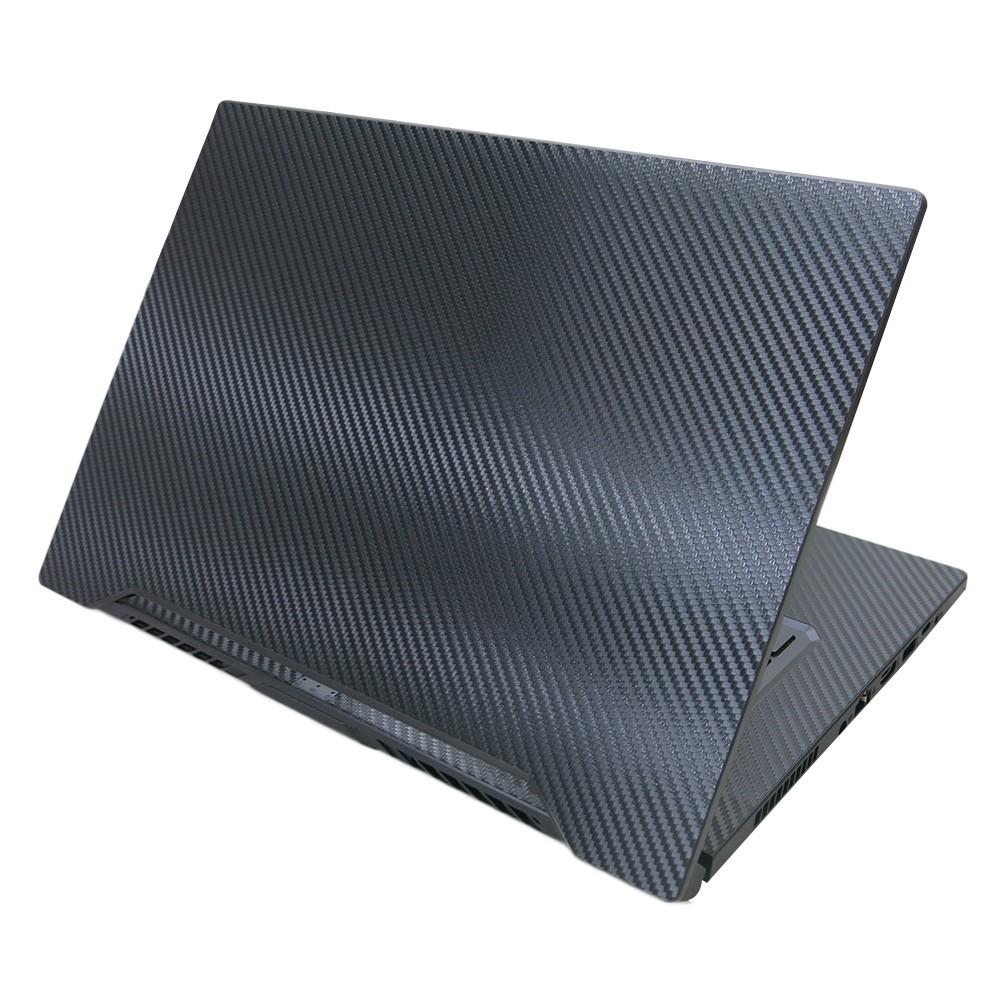 【Ezstick】ASUS FX516 FX516PR 黑色立體紋機身貼 (含上蓋貼、鍵盤週圍貼) DIY包膜