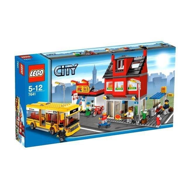 樂高lego7641城市一角