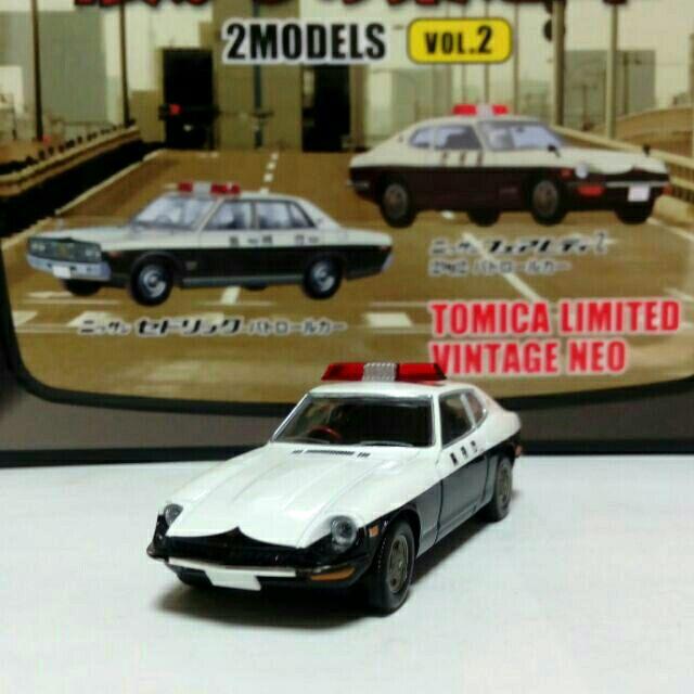 Tomytec TLV 2MODELS NISSAN FAIRLADY Z 2by2 警車 日產 跑車 Tomica