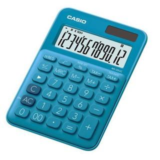 【天龜】 CASIO 時尚甜美 俏藍莓馬卡龍計算機 10位數 利潤率計算 稅金計算 MS-7UC BU 桃園市