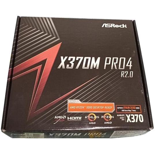 ASROCK 華擎 X370M Pro4 主機板 支援R3 3300x R5 3600