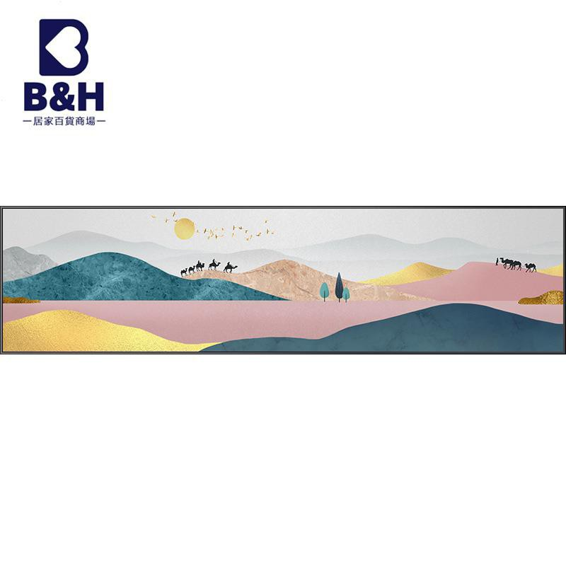 【現貨/貨到付款】現代簡約臥室裝飾畫溫馨床頭掛畫北歐風主臥房間墻畫輕奢抽象壁畫