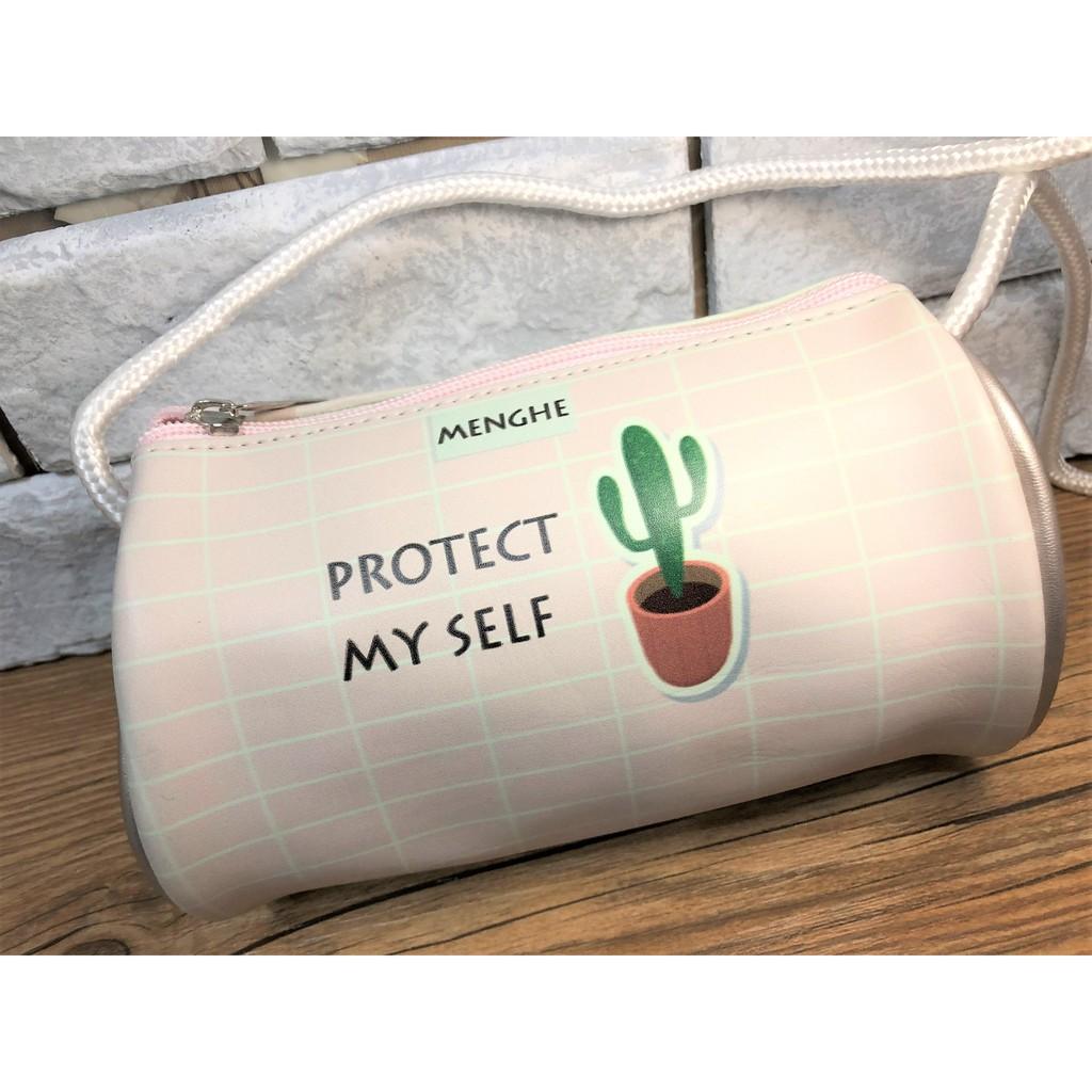 現貨 ❤ 【NANANA小舖】娃娃機商品-可愛療癒多肉植物仙人掌小包包  台主 超愛夾 PU皮 側背包