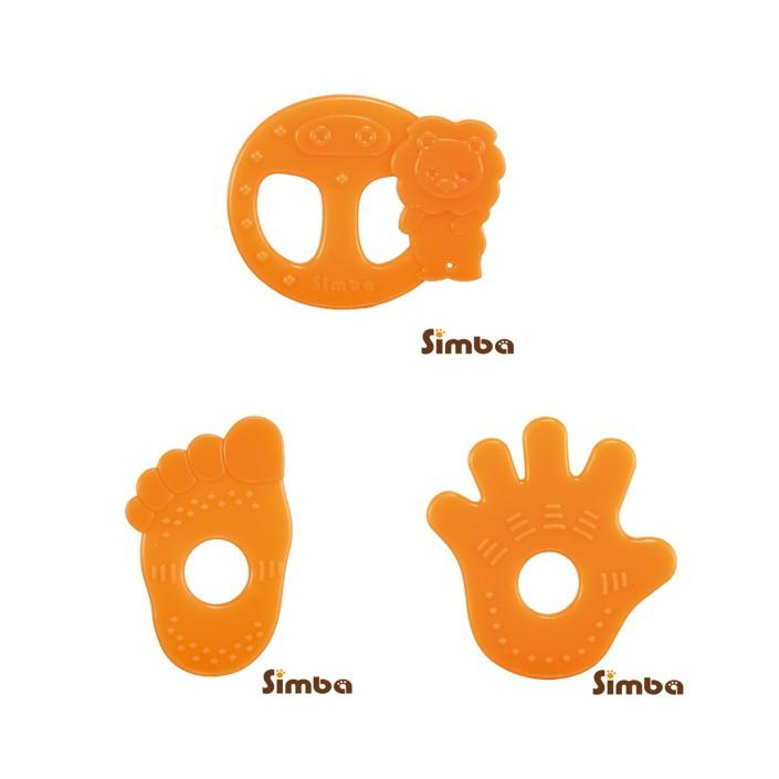 《小獅王辛巴》柑橘香矽膠固齒器-腳