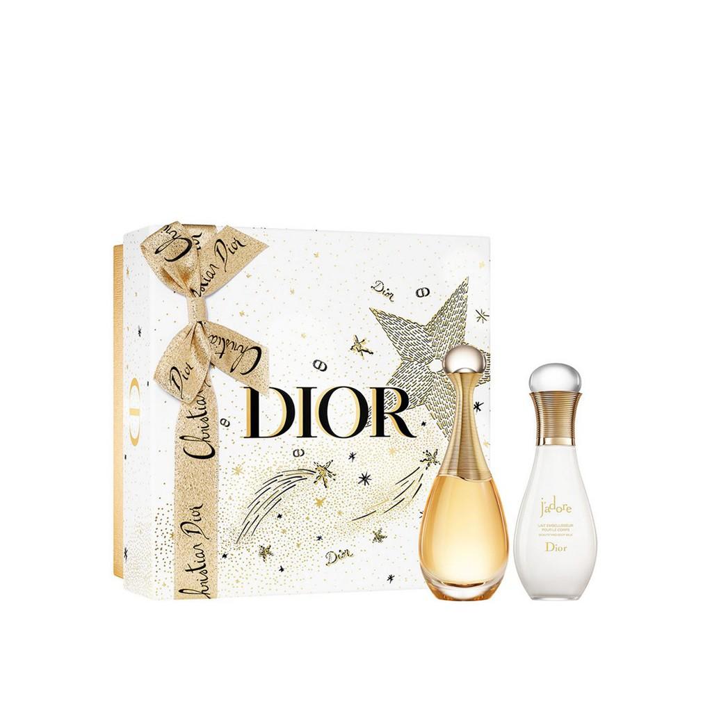 【Dior 迪奧】 J'ADORE 香氛美體組 限量禮盒 香水 萃潤澤身體乳 乳液 La Jolie Makeup