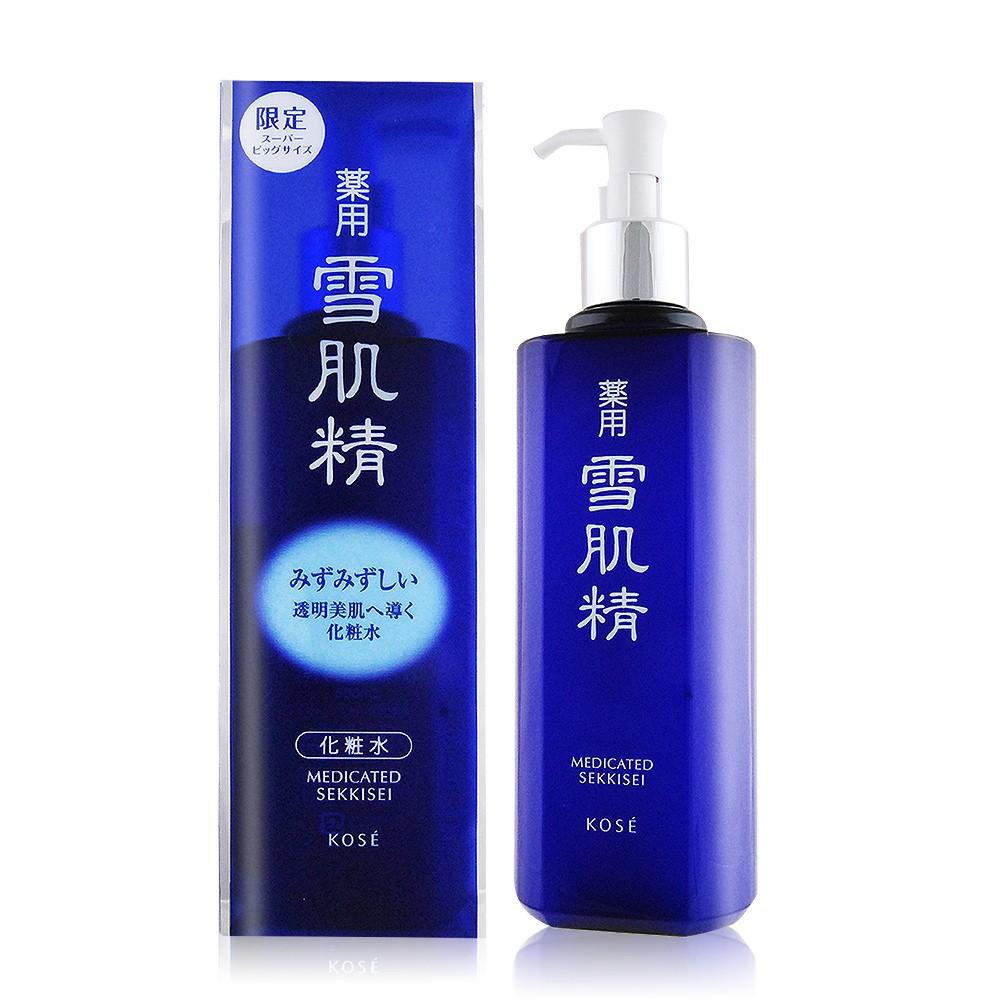 KOSE 高絲 雪肌精(500ml)-限量實惠瓶(按壓式壓頭) 廠商直送 現貨