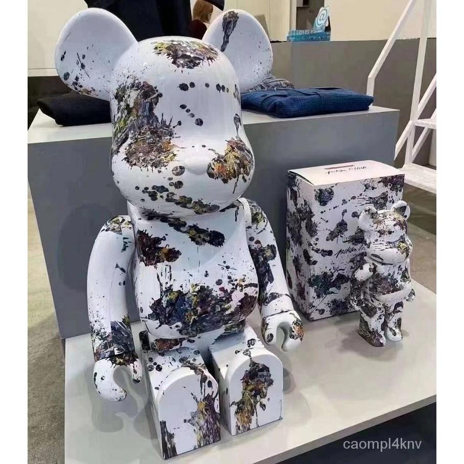 【積木熊】BEARBRICK Jackson Pollock Studio 1000%潑墨BE@RBRICK積木熊
