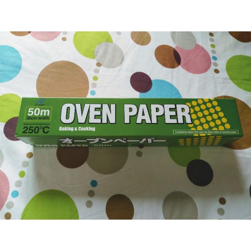 (現貨)oven paper 食物烹調專用紙 30cm*50公尺 日本製 烘培紙 烹飪紙 烤盤紙 Costco好市多代購