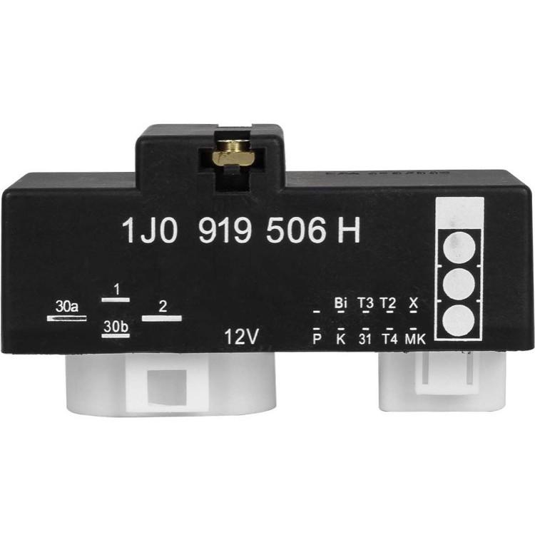 奧迪 Audi 福斯 Skoda 風扇 控制器 繼電器 風扇控制器1J0 919 506H 1J0919506H
