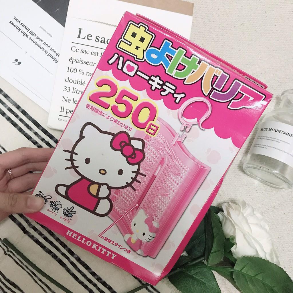 出清現貨!!Fumakilla 象球牌 Hello Kitty 驅蚊掛座 VAPE 250日 防蚊用品 除蟲