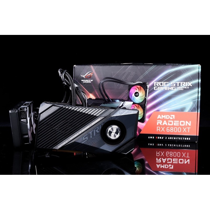 Asus 華碩 ROG-STRIX-LC-RX6800XT-O16G-GAMING  一體式水冷 高階顯卡