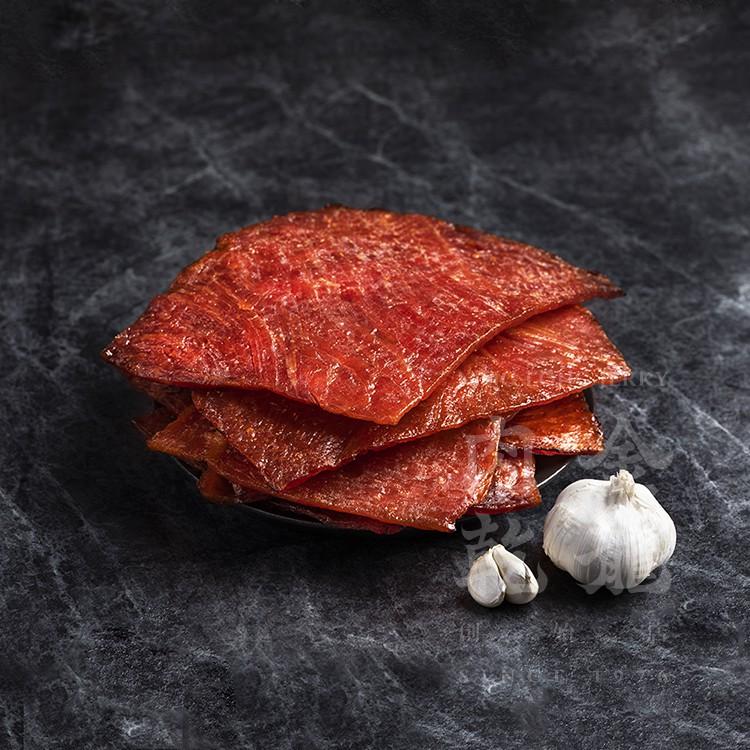 【金龍肉乾】 蒜味豬肉乾 150g 輕巧隨手包