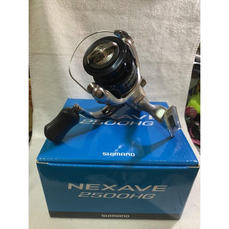 SHIMANO 18年 NEXAVE  平價 紡車捲線器  2500HG型  盒裝FX  C3000.2500HG