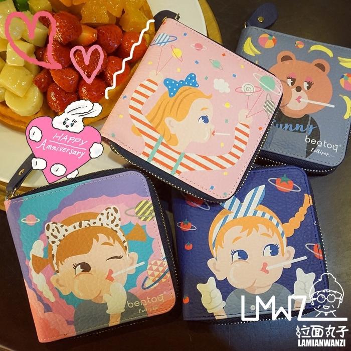 【現貨】feyfey小鋪韓國日系卡通可愛學生短款小錢包零錢包卡包少女心ins潮