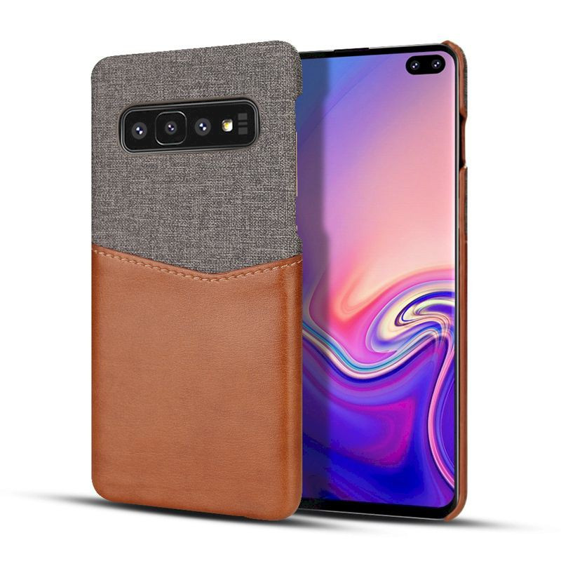 Samsung S10 S9 + Plus Note9 Note8 布紋 原廠手機殼背蓋後殼背殼 手機套皮套保護套保護殼