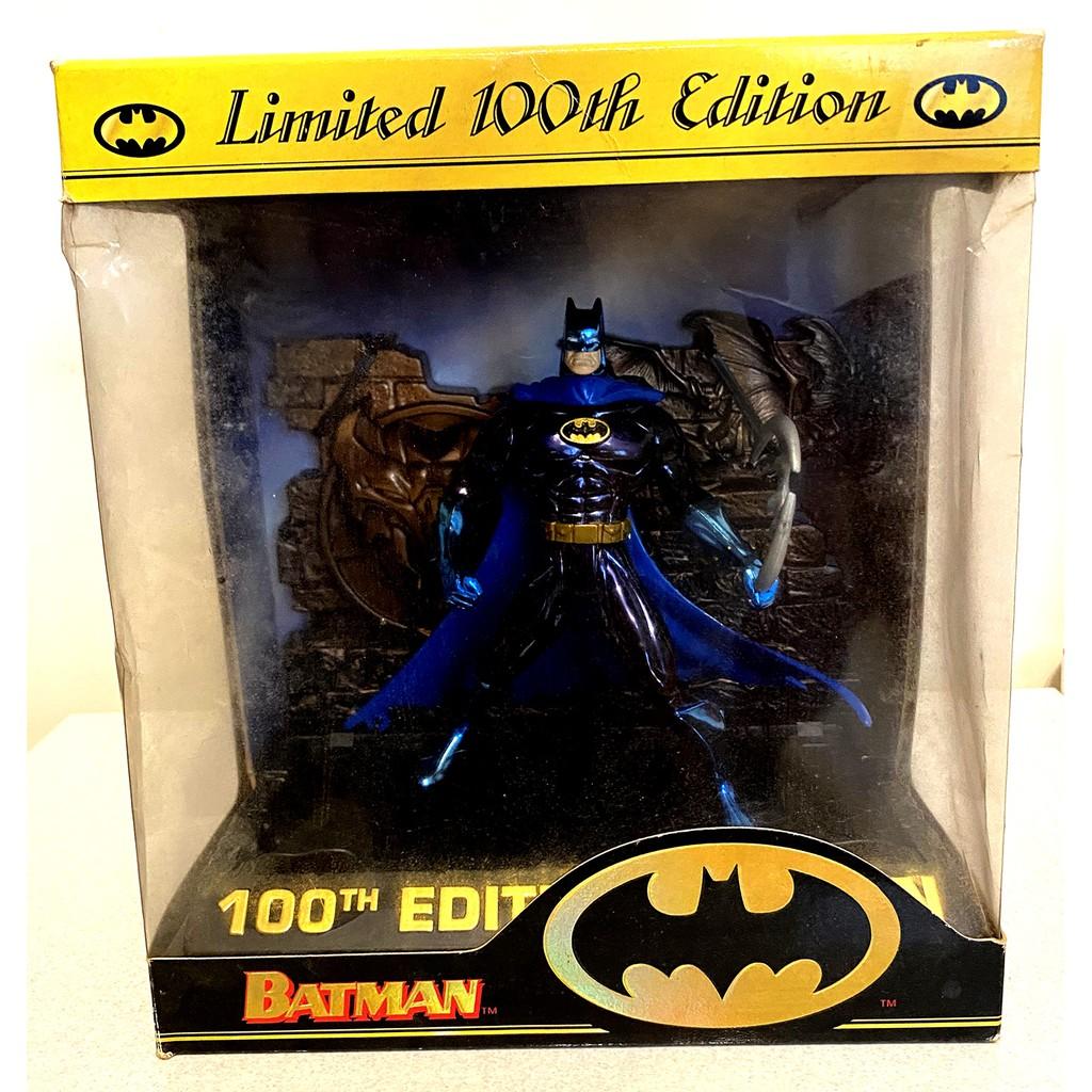 美版 Kenner Batman Limited 100th Edition 蝙蝠俠第100隻動作人偶限量紀念絕版品