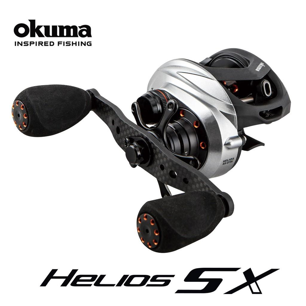 OKUMA 寶熊 HELIOS SX 太陽神 免運 免運 雙軸捲線器 高階小烏龜 路亞 捲線器 釣魚 假餌 敲底