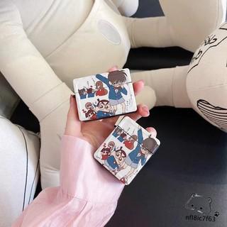 台灣出貨⭕名偵探柯南 蠟筆小新 AirPods Pro保護套 1/ 2代保護殼 蘋果無線藍牙耳機防摔軟殼 分離式 日系卡通 臺南市
