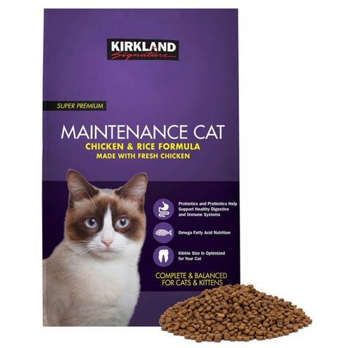 ☆價格含運🚚☆科克蘭 雞肉&米配方乾貓糧11.34公斤 紫包 貓飼料 ☆好市多 Costco 線上代購🚚