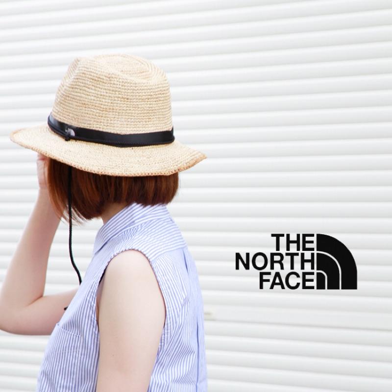 現貨)2021夏預購The North Face Raffia Hat (NB) 北臉草帽 遮陽帽 紳士帽