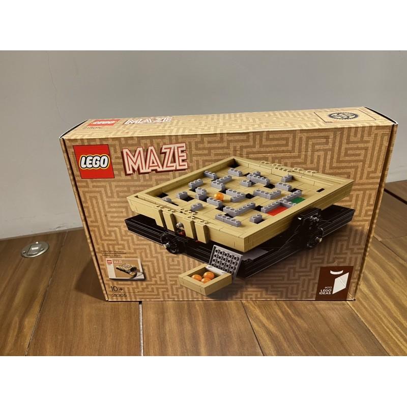 樂高LEGO 21305迷宮全新未拆(有盒損)