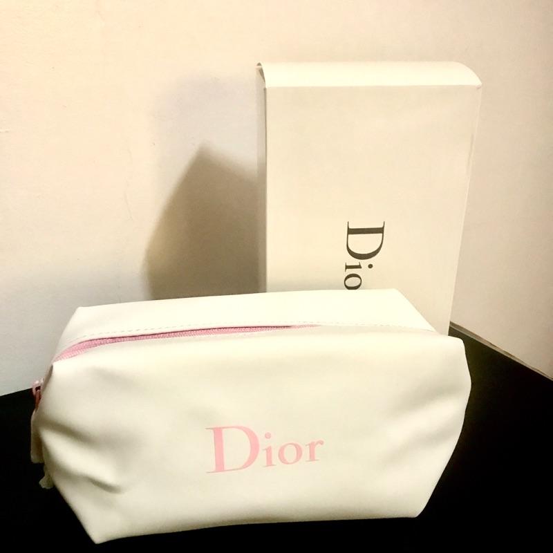 現貨⚡ Dior 化妝包 筆袋 專櫃正品 實品拍攝