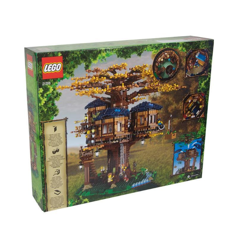 【免運費】LEGO 樂高IDEA系列 21318樹屋 叢林木屋模型拼裝積木益智玩具禮物