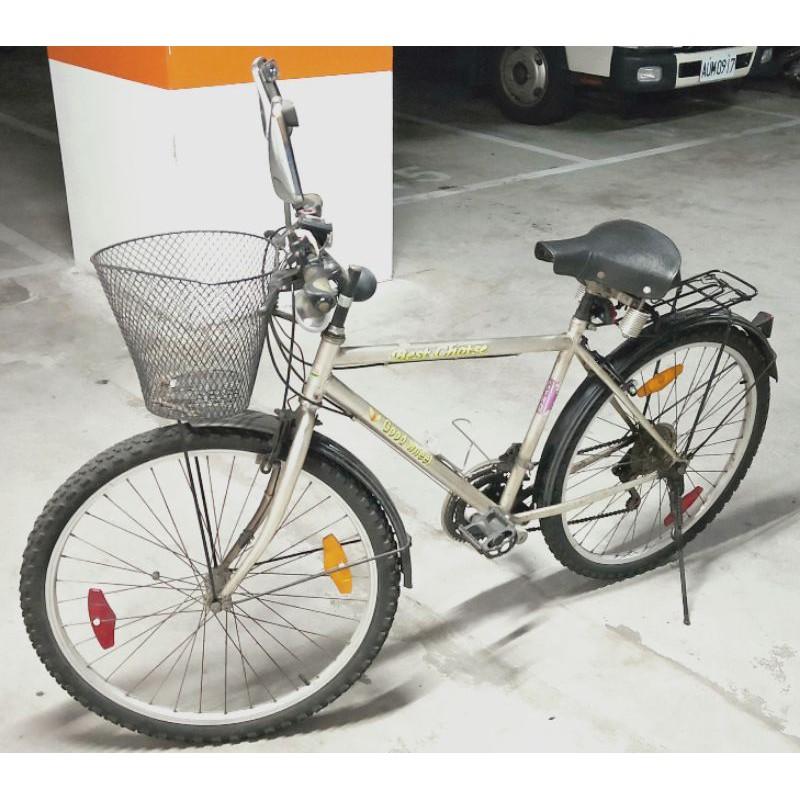 比較同級價位的二手車架,經濟實惠代步自行車-26*1.95吋輪徑&寬/後悔定此價,所以不二價,若想殺個價,請先比網價!