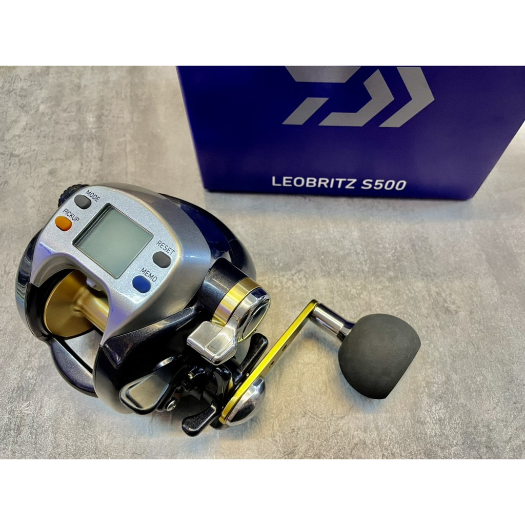 DAIWA LEOBRITZ       S500銀豹電動捲線器