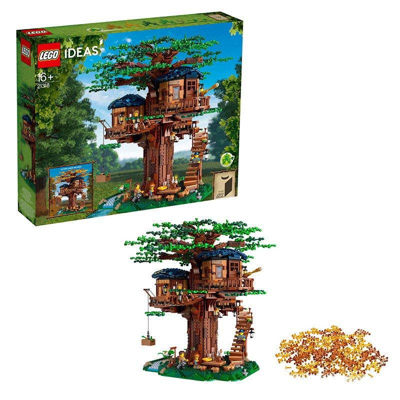 2019創意新款LEGO樂高21318樹屋男孩女孩拼搭積木男女孩玩具禮物