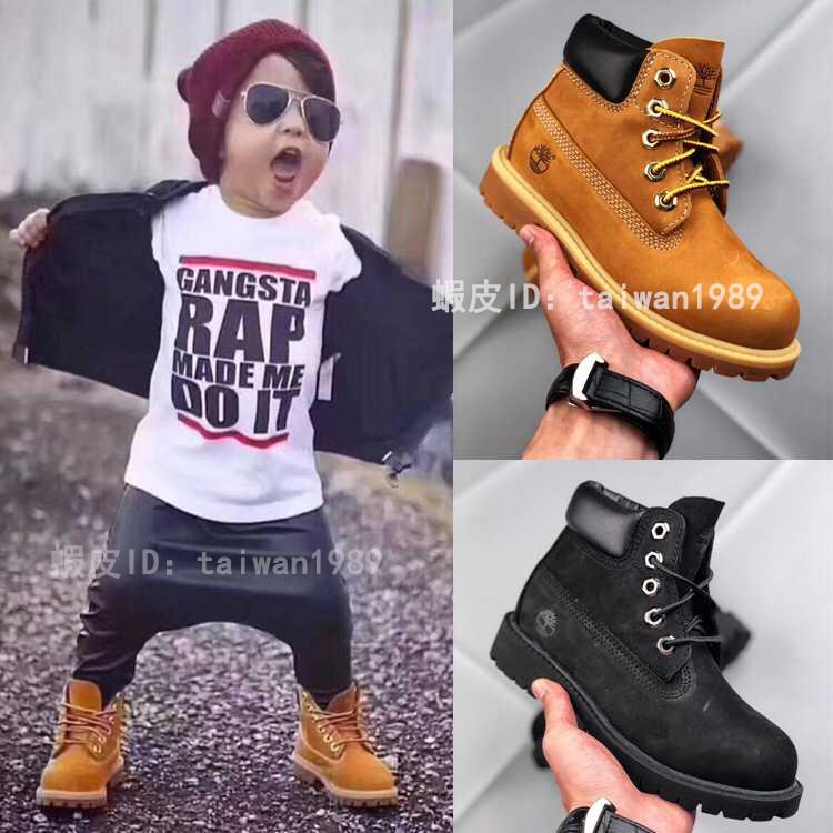 美國好市多 Timberland 童鞋代購 10061 兒童 踢不爛 防潑水 經典頭層磨砂牛皮 麥黃靴 黃靴 原盒包裝