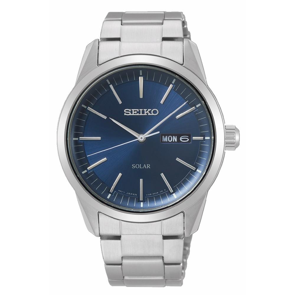 SEIKO精工 CS質感簡約太陽能時尚腕錶-40MM(SNE525P1/V158-0BE0B)【ERICA STORE】