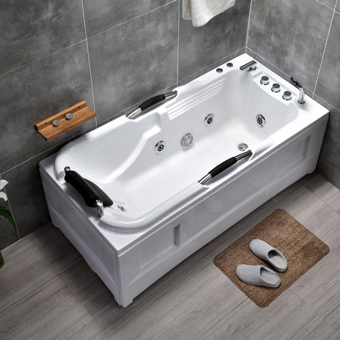 【新房必買清單】浴缸家用小戶型成人亞克力獨立式按摩恆溫加熱衝浪浴盆1.2-1.8米