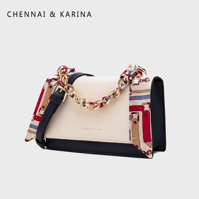 (七月促銷)小CK包包女2020新款潮夏天網紅百搭鏈條小方包單肩手提包斜挎包女