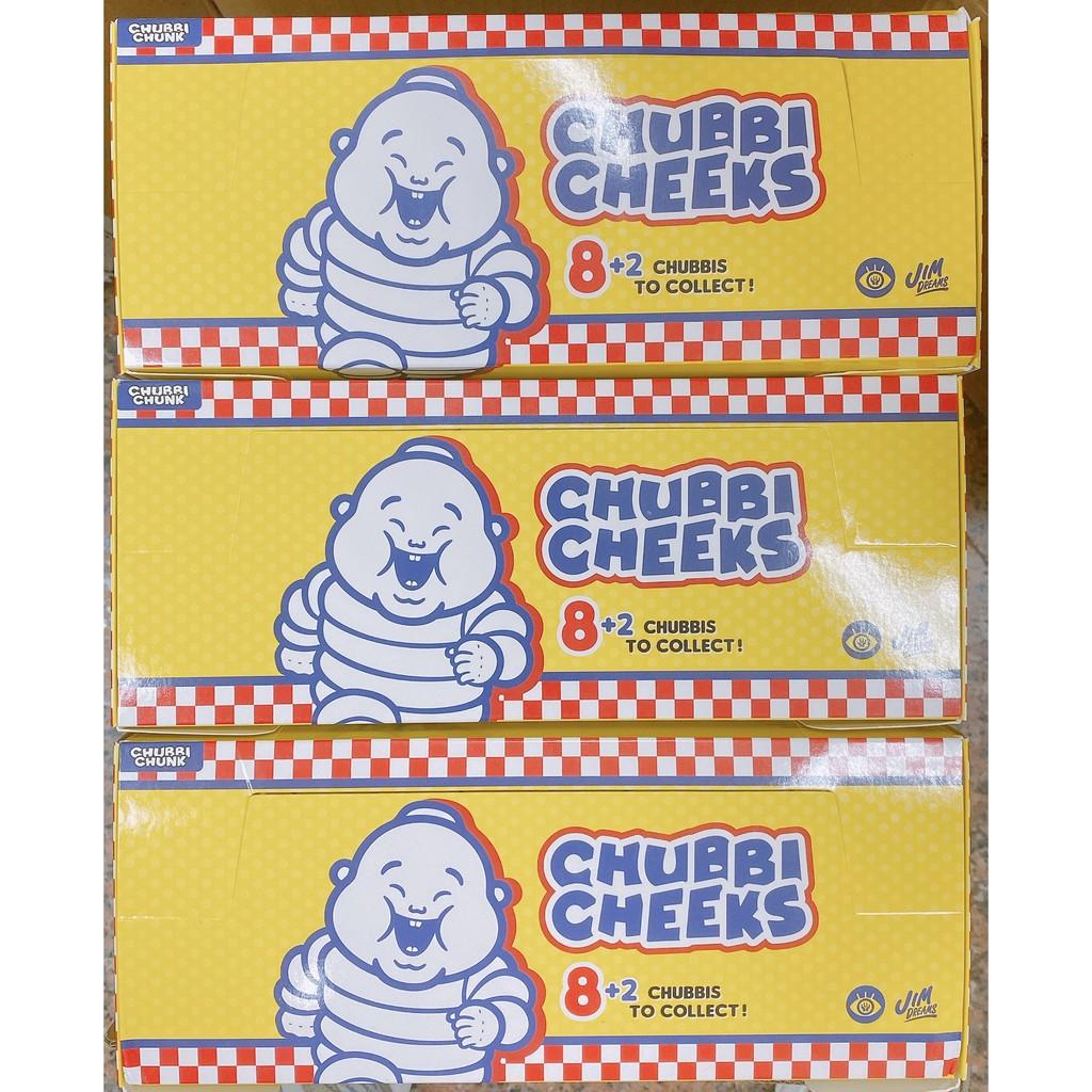 🔥正版現貨🔥Unbox Chubbi Cheeks family 小胖子盒玩 盲盒 肯德基麥當勞 米其林 神偷 七喜