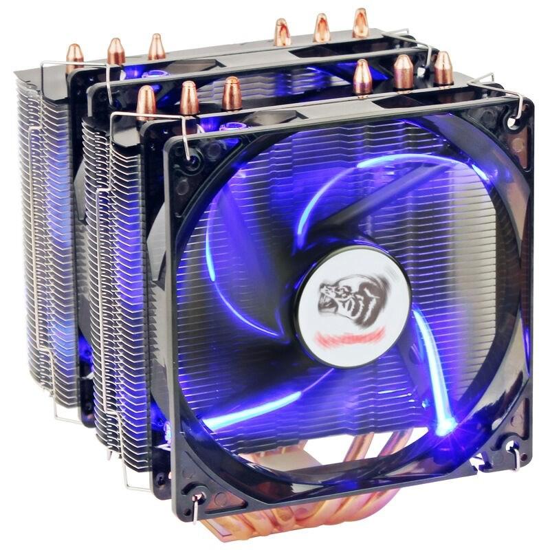 適用AMD FX-8300 FX 8350FX 幽靈版FX8370 8310八核散熱器風扇