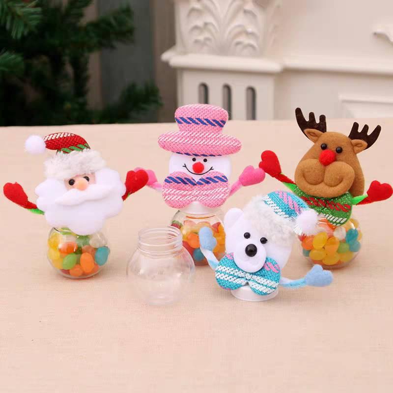 (台灣出貨)聖誕節糖果罐/聖誕禮物/聖誕老人/雪人/麋鹿(造型糖果/聖誕贈品/軟糖/聖誕掛飾/聖誕禮品/雷根糖)