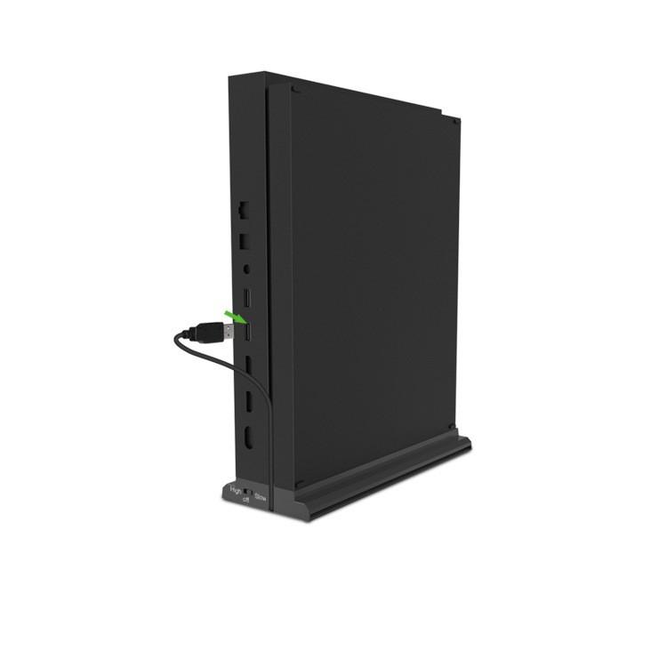 【台灣發貨-免運】XBOX ONE X智能散熱風扇直立底座 XBOXONE X主機遊戲散熱器支架