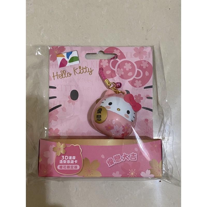 Hello Kitty 達摩3D造型悠遊卡-櫻花限定版2300元