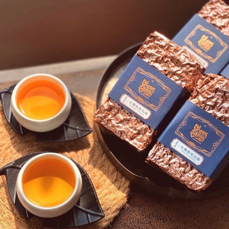 【錯喜歡茶】露浥自然農法熟果烏龍茶 散茶 150g 裸包