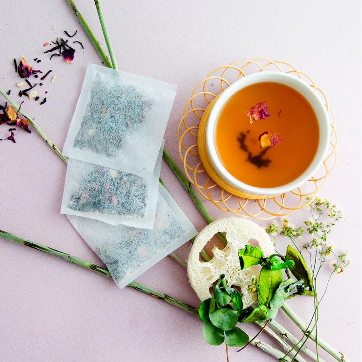 《奼紫嫣紅-美纖潤色茶》袋茶12/24包 複方花草茶 婀娜美顏 紅潤氣色 促進新陳代謝