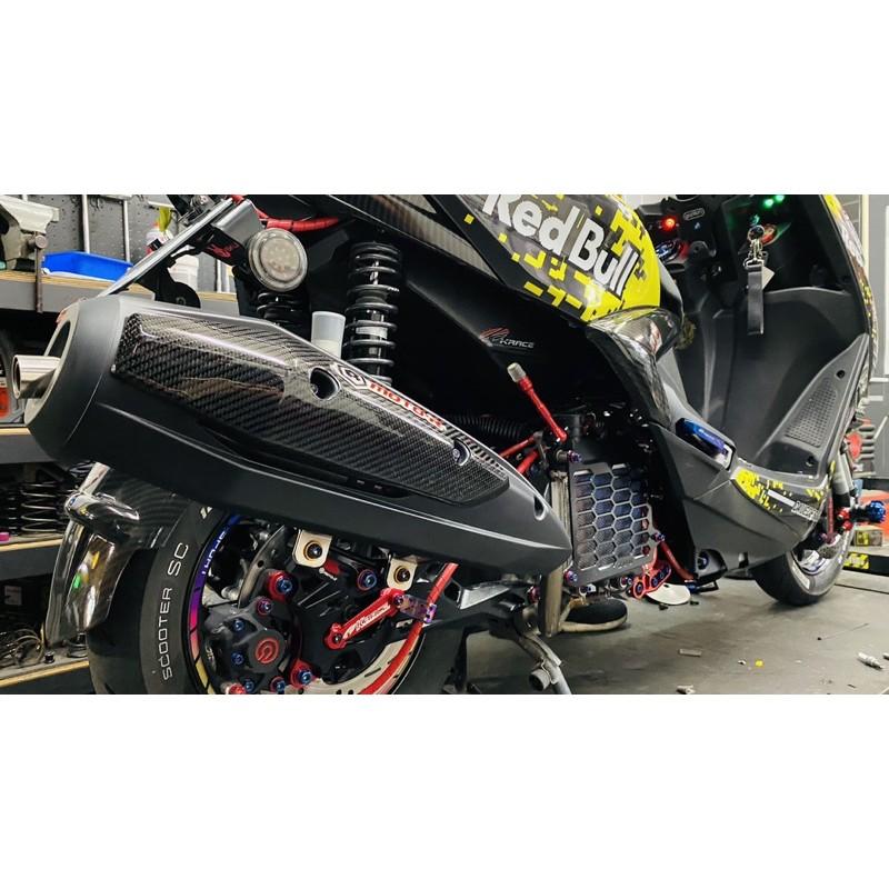 【嘉煌車業】MOTO-R 排氣管 M1-S 白鐵束環管 回壓靜音 白鐵下繞原廠型 噴黑 六代勁戰/JETSR/雷霆S