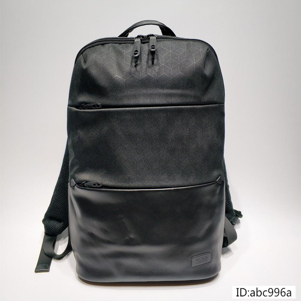 TUMi途明雙肩包 Tahoe系列798640新品時尚商務男士雙肩包 牛皮真皮包包 防水防潑多功能多隔層後背包 筆電背包
