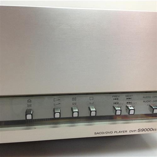 二手進口DVD機SONY索尼 DVP-S9000SE靚音質處理支持SACD當轉盤靚 uuRl