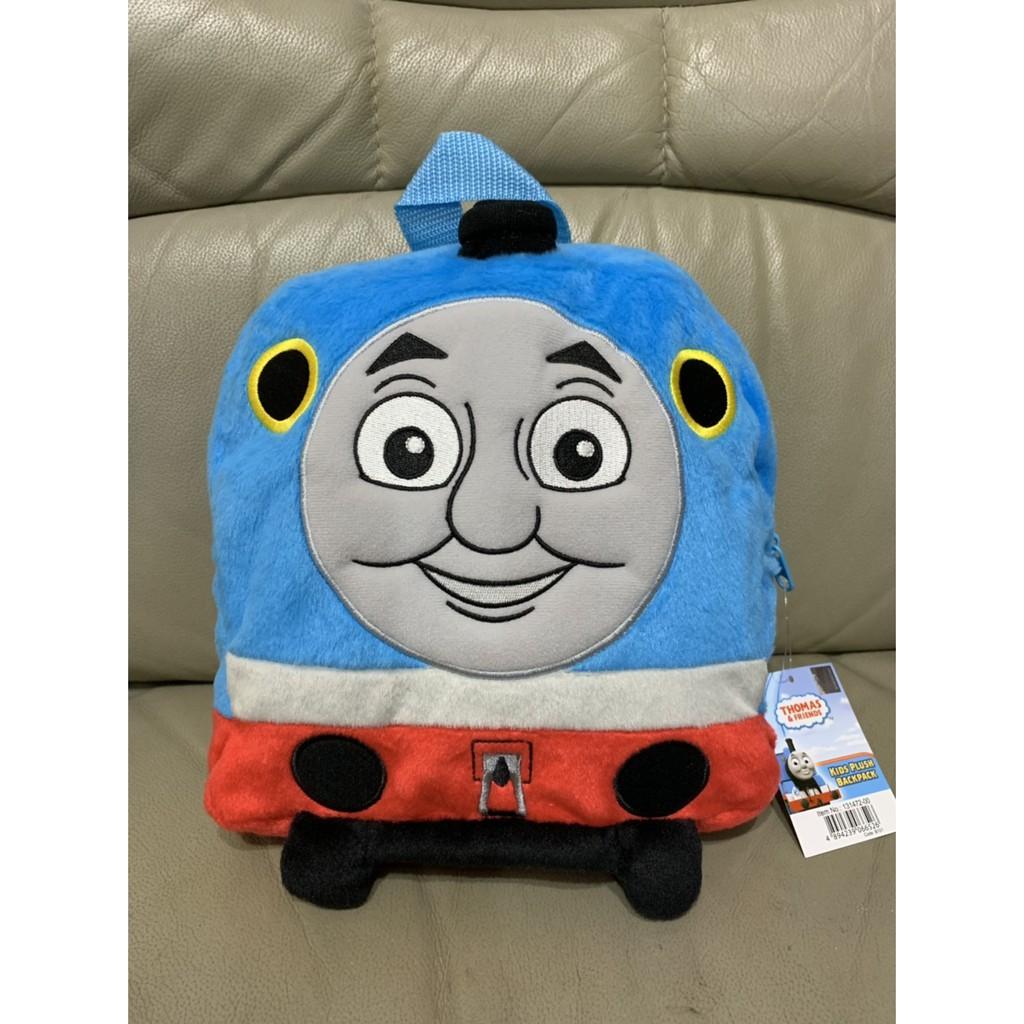 【全新】正版 湯瑪士小火車 布質 幼兒園書包 小男生最愛寶寶後背包 書包